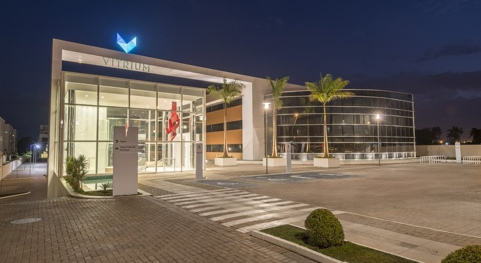 acesso principal vitrium centro medico em Brasília DF